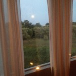 Full Moon View from our studio