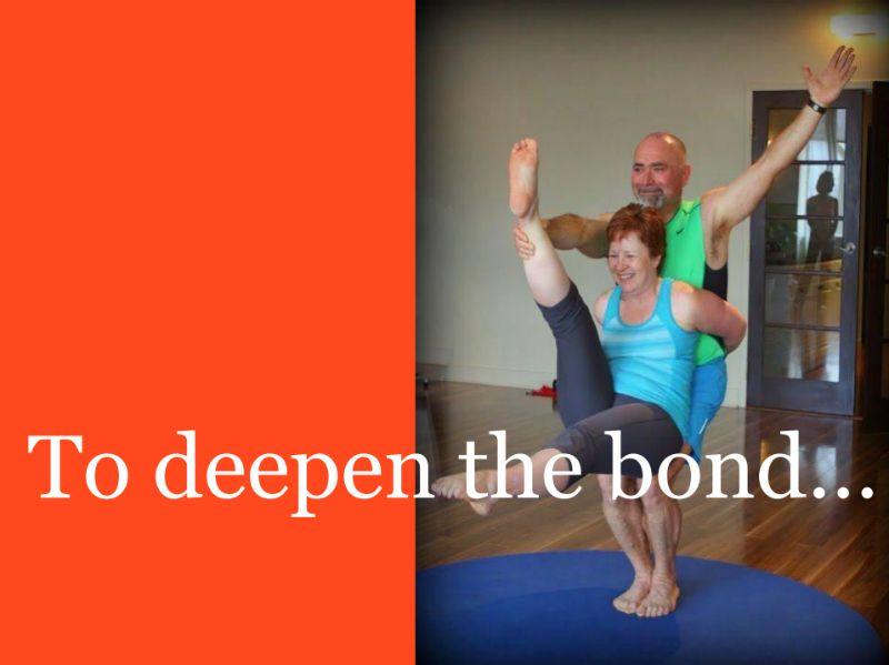 yoga deepens the bond between couples