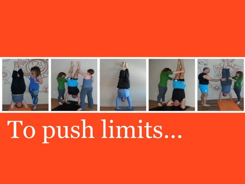 yoga pushes limits