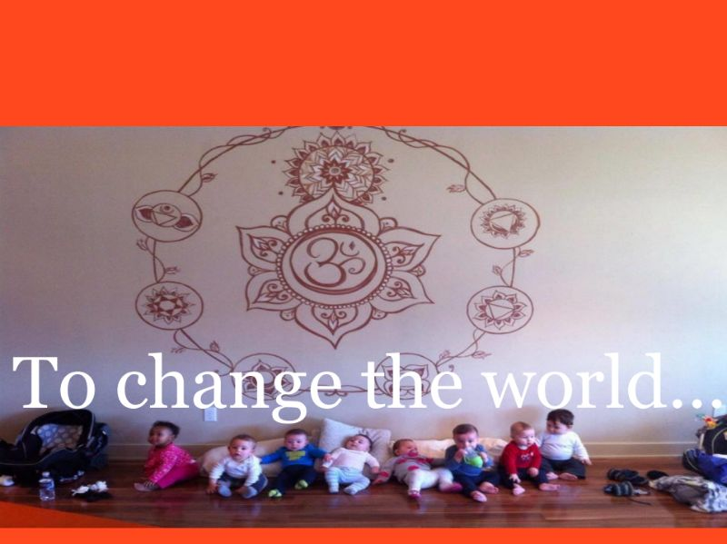 yoga can change the world