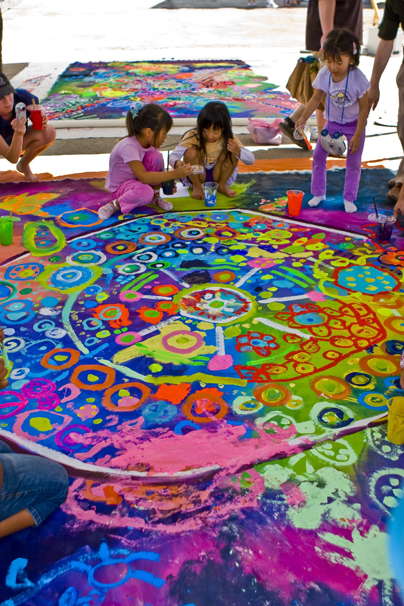 Art and yoga summer camp body to bliss yoga for Art and craft classes for kids