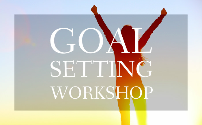 End the Year Strong Goal Setting Workshop